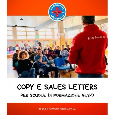 CORSO COPY E LETTERE DI VENDITA PER CENTRI FORMAZIONE BLSD
